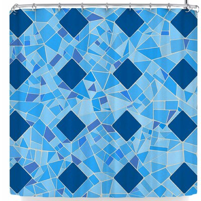 AFE Images Abstract Mosaic Shower Curtain
