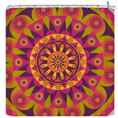 AFE Images Mandala Design Shower Curtain