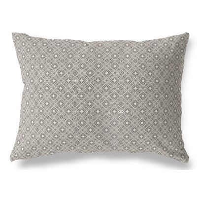 Liam Indoor/Outdoor Lumbar Pillow Color: Black/Tan