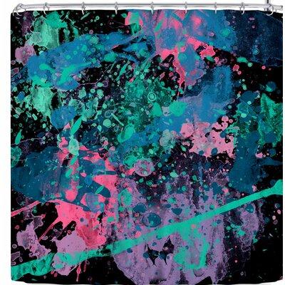 Rosa Picnic Splatter-2 Shower Curtain