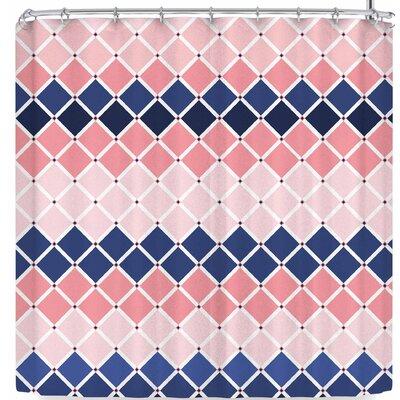 AFE Images Diamond Tiles Shower Curtain