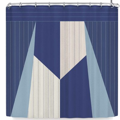 AFE Images Afe Pinstripes Shower Curtain
