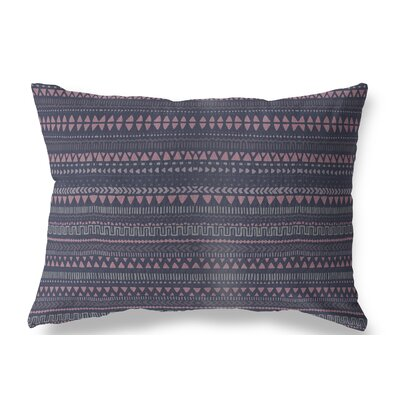 Christenson Indoor/Outdoor Lumbar Pillow Color: Blue/Pink/Purple