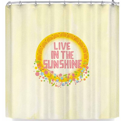 Billington Live In The Sunshine Shower Curtain