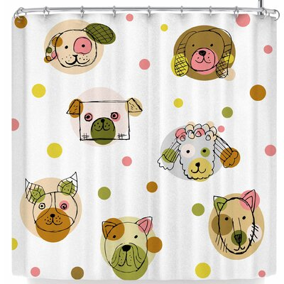 Billington Fun with Dogs Shower Curtain