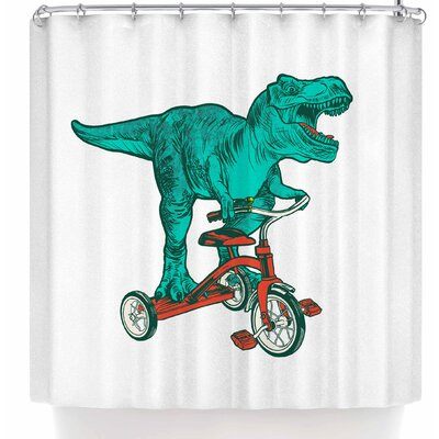Jared Yamahata Trexycle Shower Curtain