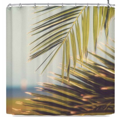 Ann Barnes Island Time Shower Curtain