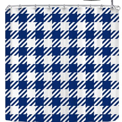 Kess Original Plaid Shower Curtain