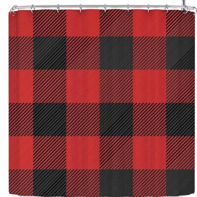 Kess Original and Plaid Shower Curtain