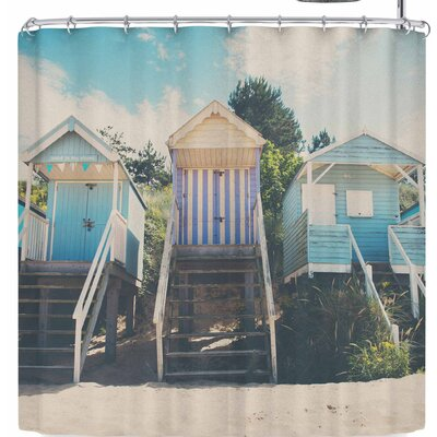 Laura Evans Wells Next The Sea Shower Curtain
