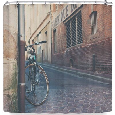 Laura Evans The Streets of Albi Shower Curtain