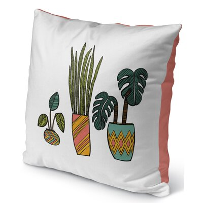 Christen Indoor/Outdoor Throw Pillow Size: 18 H x 18 W