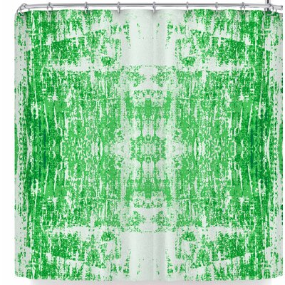 Carollynn Tice Shamrock Shower Curtain