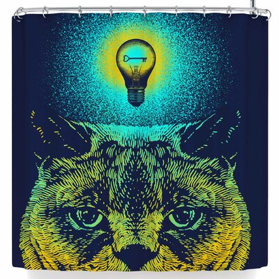 BarmalisiRTB Brilliant Cat Shower Curtain