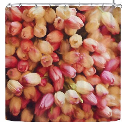 Sylvia Cook Tulips Shower Curtain