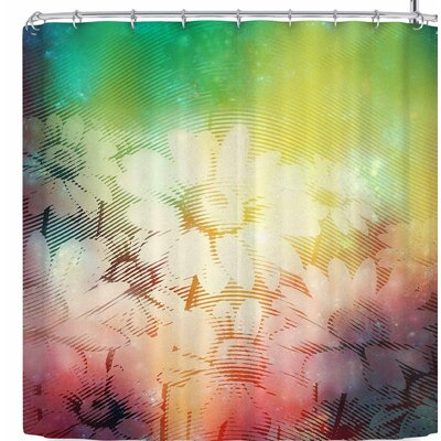 Cvetelina Todorova Magic Garden Shower Curtain