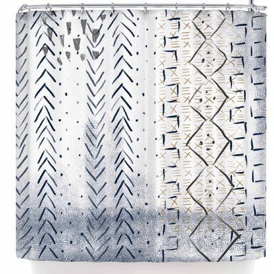 Pellerina Design African Mudcloth Shower Curtain