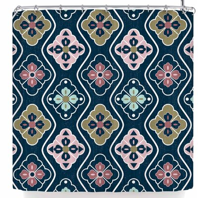 Amanda Lane Mazie Fair Shower Curtain
