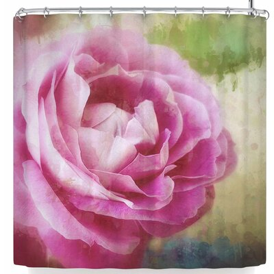 Alyzen Moonshadow Dusky Rose Shower Curtain