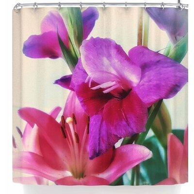 Alyzen Moonshadow Lilies Shower Curtain