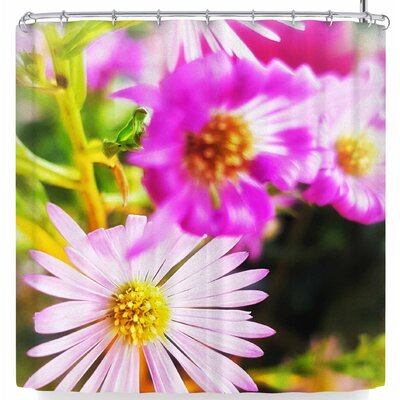 Alyzen Moonshadow Flower Medley Closeup Shower Curtain