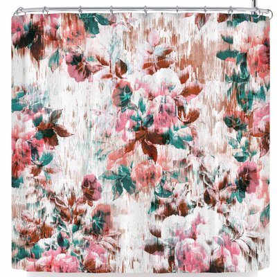 Victoria Krupp Washed Flowers Shower Curtain