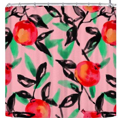 Victoria Krupp Pomegranate Tree Shower Curtain