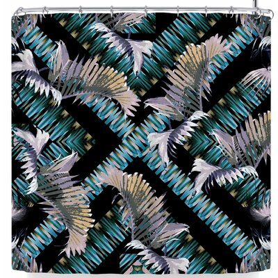 Victoria Krupp Palm Twist Shower Curtain