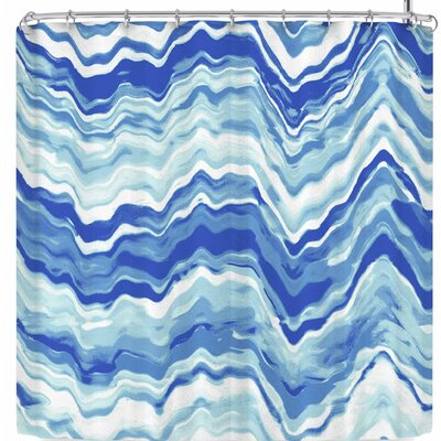Victoria Krupp Wave Shower Curtain