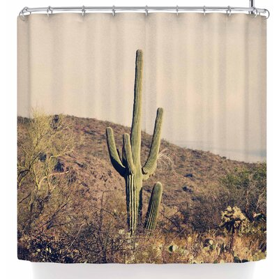 Sylvia Coomes Cactus Desert Landscape Shower Curtain
