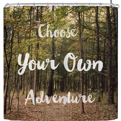 Sylvia Coomes Choose Your Own Adventure Shower Curtain