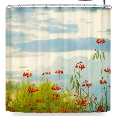 Sylvia Coomes Bird of Paradise Shower Curtain