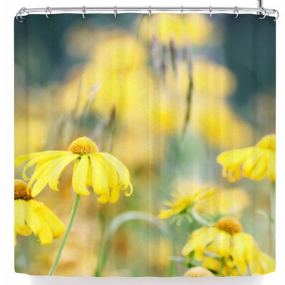 Sylvia Coomes Dreamy Blooms Shower Curtain