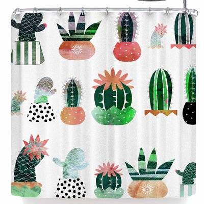 Bruxamagica Cactus Shower Curtain