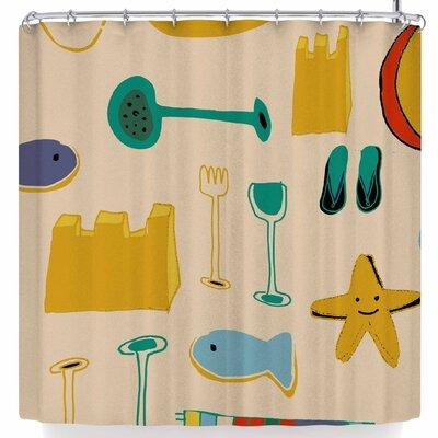 Bruxamagica Beach Gear Shower Curtain