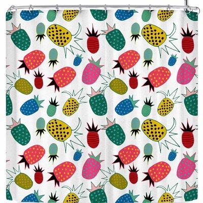 Bruxamagica Pineapple Shower Curtain