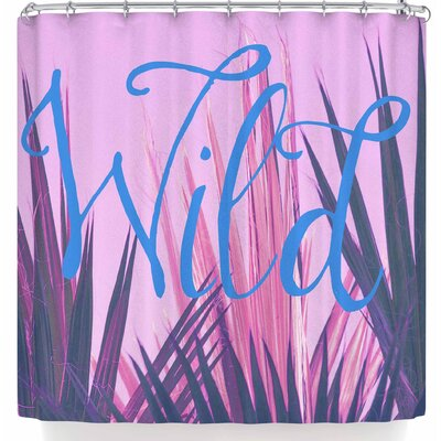 Ann Barnes Wild Shower Curtain