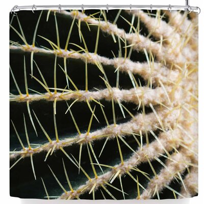 Ann Barnes Barrel Cactus Shower Curtain