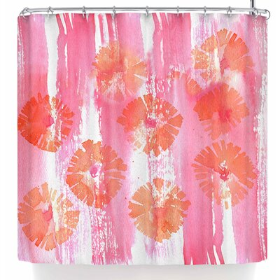 Catherine Holcombe Poppin Poppies Shower Curtain