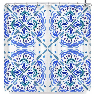 Catherine Holcombe Amalifi Coast Shower Curtain