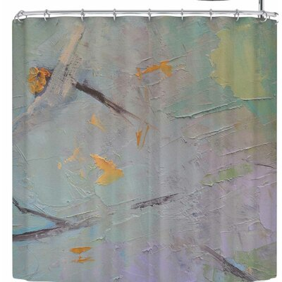 Carol Schiff Suddenly Spring Burst Through Shower Curtain