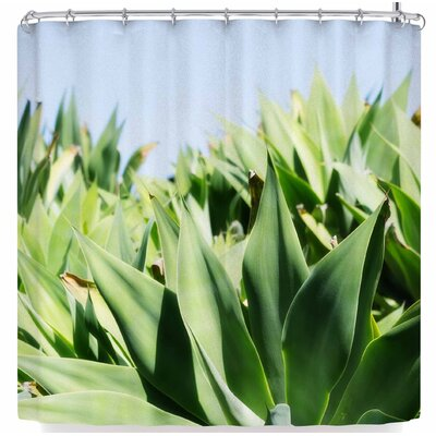 Ann Barnes Agave Forest Shower Curtain