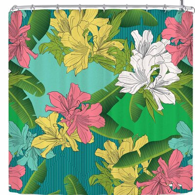 Victoria Krupp Summer Floral Shower Curtain