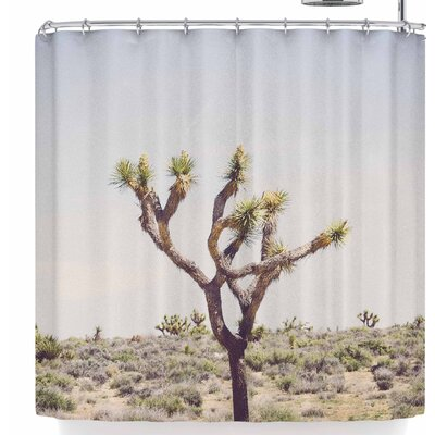 Ann Barnes Joshua Tree Shower Curtain
