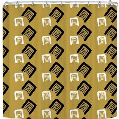 Vasare Nar Moroccan Home Barocc Art Deco Shower Curtain