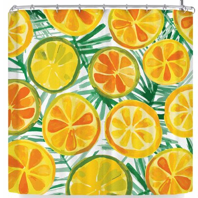 Billington Tropical Slices Shower Curtain
