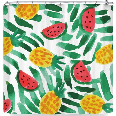 Billington Tropical Fruit Haven Shower Curtain