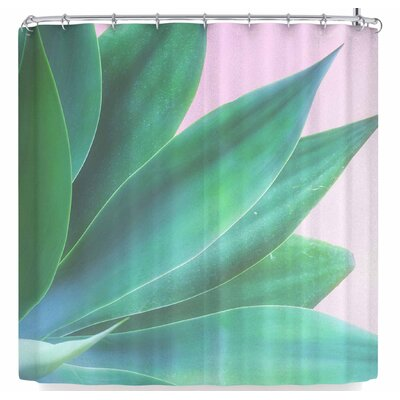 Ann Barnes Agave Pop Shower Curtain