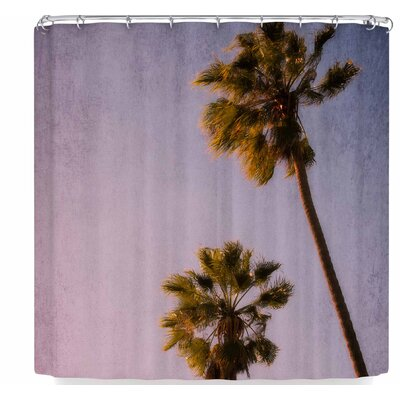 Ann Barnes Palms Shower Curtain