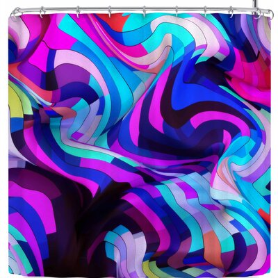 Danny Ivan Light Year Shower Curtain